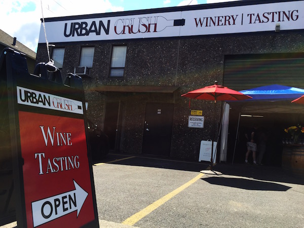 Urban Crush Winery and Tasting Room is on Seventh Street in Southeast Portland.