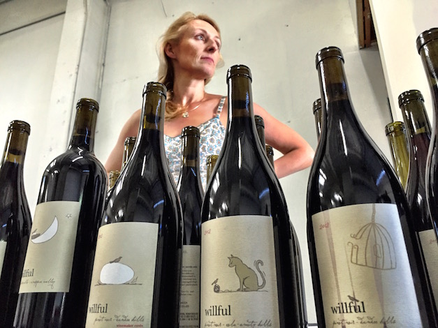 Pam Walden is poised to take the next step with Willful Wine Co., which launched in 2011, a decade after she and the late Aron Hess created Daedalus Cellars and Jezebel.