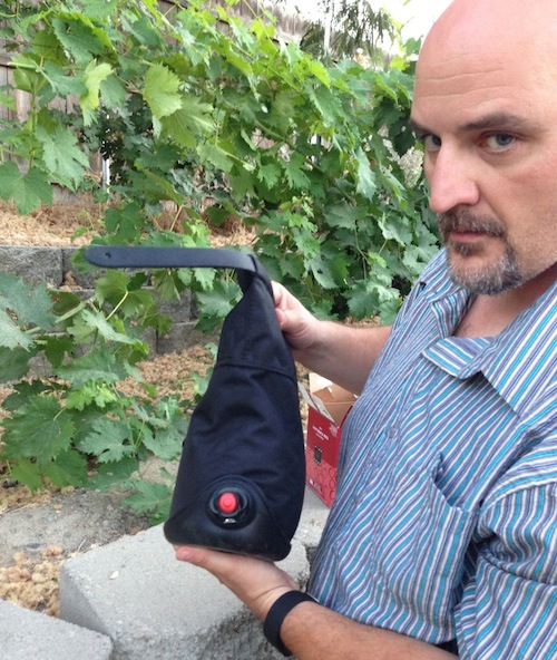 The Wine Sack holds 3 liters of premium boxed wine.