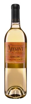 Amavi Cellars-2014-Estate Semillon Bottle