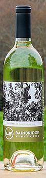 Bainbridge Vineyards-2013-Siegerrebe Bottle