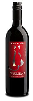 Bergevin Lane Vineyards-2012-Calico Red Bottle