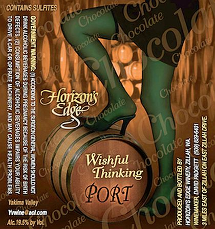Horizon's Edge Winery-NV-Wishful Thinking Chocolate Port