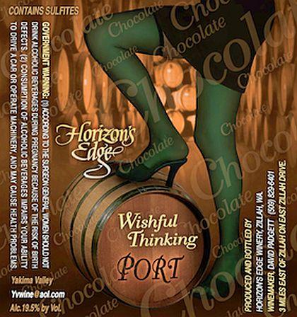 Horizon's Edge Winery-NV-Wishful Thinking Chocolate Port
