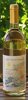 Lopez Island Vineyards-NV-Wave Crest White Bottle