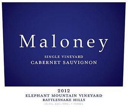 Maloney Wine-2012-Elephant Mountain Vineyard Cabernet Sauvignon