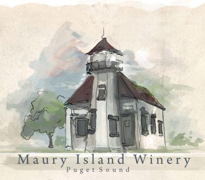 Maury Island Winery Logo