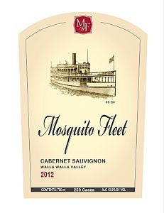 Mosquito-Fleet-Winery-Cabernet Sauvignon-2012-Label