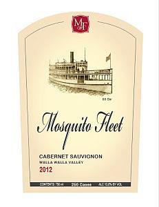Mosquito-Fleet-Winery-Cabernet Sauvignon-2012-Label