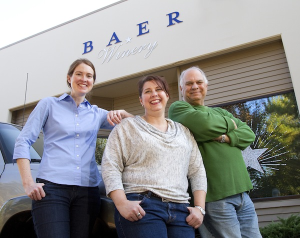 Erica Orr is the winemaker for Baer Winery and owners Lisa Baer and her father, Les Baer.