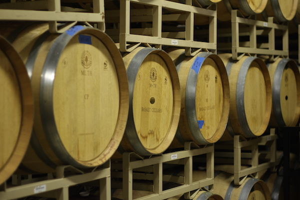 Basalt Cellars dedicated its 2001 Bacchus Vineyard Oak Trial Trio to barrels from Napa Valley cooper. Seguin Moreau.