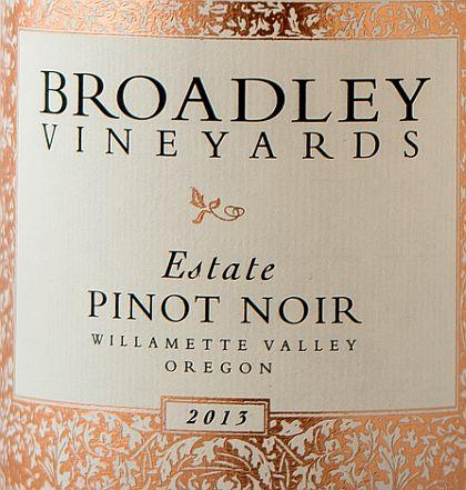 broadley-vineyards-estate-pinot-noir-2013-label
