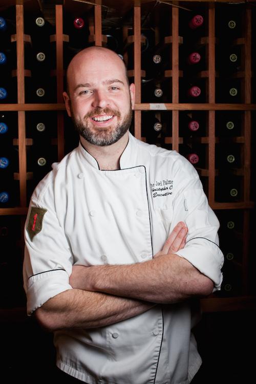 Joel Palmer House owner/chef Christopher Czarnecki