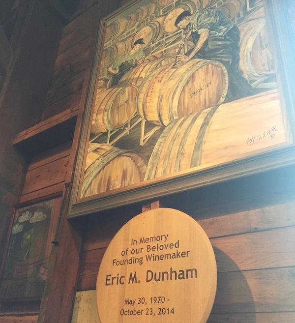 Portrait of Eric Dunham.
