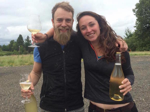 Luke Mathews and Meredith Bell are co-winemakers and share ownership of Statera Cellars in Newberg, Ore. They have launched a Kickstarter campaign as a form of crowdsourcing to support their young winery, which is producing only Chardonnay.