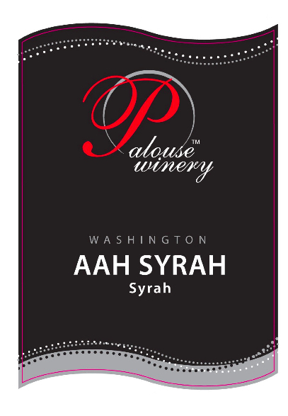 palouse-winery-aah-syrah-nv-label