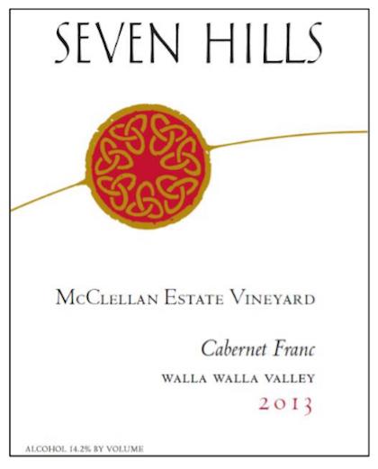seven-hills-winery-mcclellan-estate-vineyard-cabernet-franc-2013-label