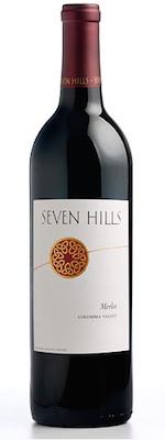 Seven HIlls Winery Columbia Valley Merlot bottle