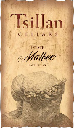 Tsillan Cellars Estate Malbec label