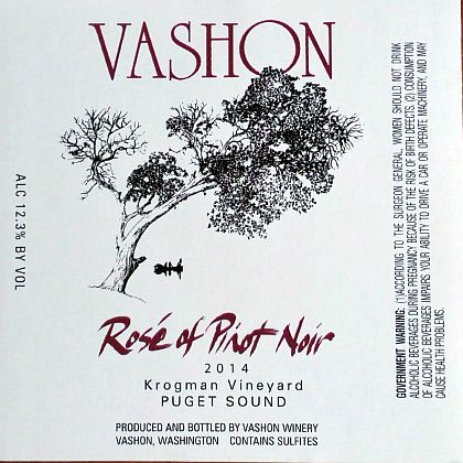 vashon-winery-krogman-vineyard-rosé-of-pinot-noir-2014-label