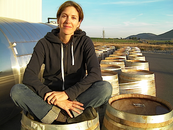 Kate Michaud produced about 150,000 cases of wine a year during her career at Covey Run. (Photo by Eric Degerman)