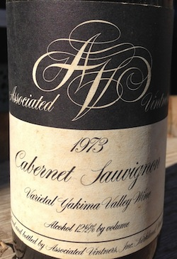 Associated Vintners began in 1962.