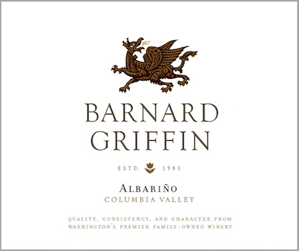 Barnard Griffin Albarino label
