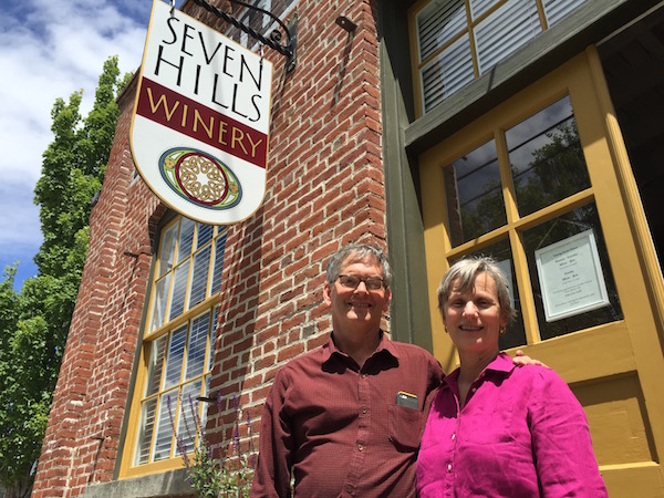 Casey McClellan and his wife, Vicky, founded Seven Hills Winery in 1988. (Photo by Eric Degerman/Great Northwest Wine)