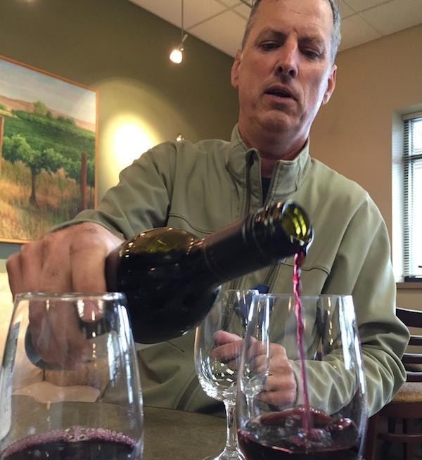 Co Dinn is owner and winemaker for Co Dinn Cellars.