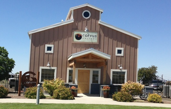 Corvus Cellars is at the Walla Walla Regional Airport.