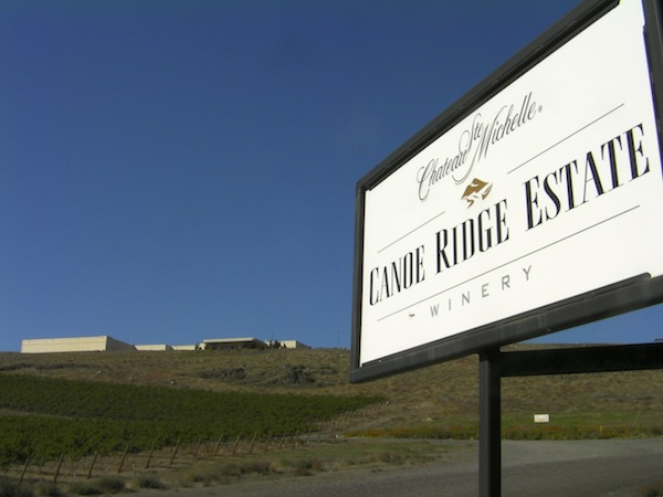 Chateau Ste. Michelle's Canoe Ridge Estate Winery is in the Horse Heaven Hills.