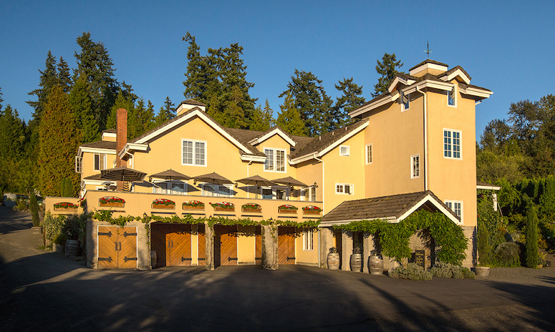 The DeLille Chateau will serve as the venue for the inaugural WineCraft:Harvest Wine Auction staged Sunday, Oct. 25 by Woodinville Wine Country.