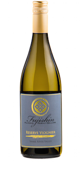 Fujishin Family Cellars Reserve Viognier bottle