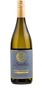 Fujishin Family Cellars Reserve Viognier bottle