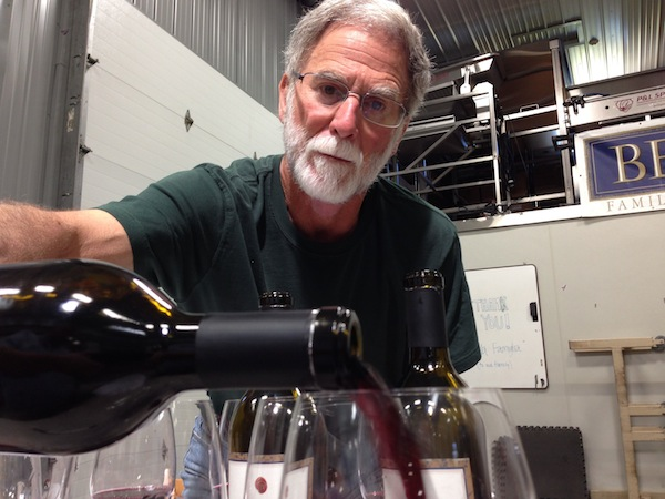 Bob Betz loves Washington Grenache.