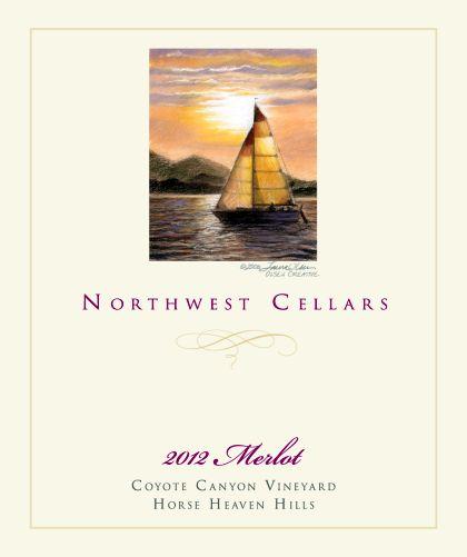 northwest-cellars-coyote-canyon-vineyard-merlot-2012-label
