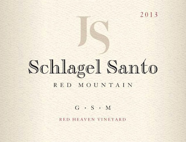 Schlagel Santos GSM is from Red Mountain in Washington state.