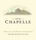 ste chapelle special harvest riesling 2014 label 120x134 - Ste. Chapelle 2016 Special Harvest Riesling, Snake River Valley, $12