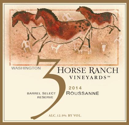 3-horse-ranch-vineyards-roussanne-2014-label