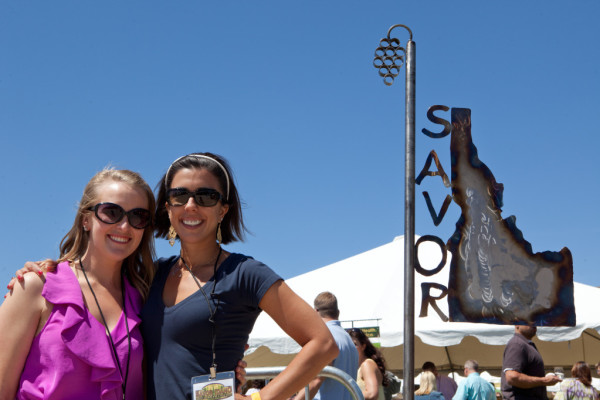 Sara Dirks, marketing and grant manager of the Idaho Wine Commission, left, and Moya Dolsby, IWC executive director, team up each spring to spearhead Savor Idaho, the state's largest celebration of wine and food.