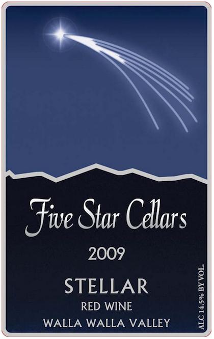 five-star-cellars-stellar-2009-label