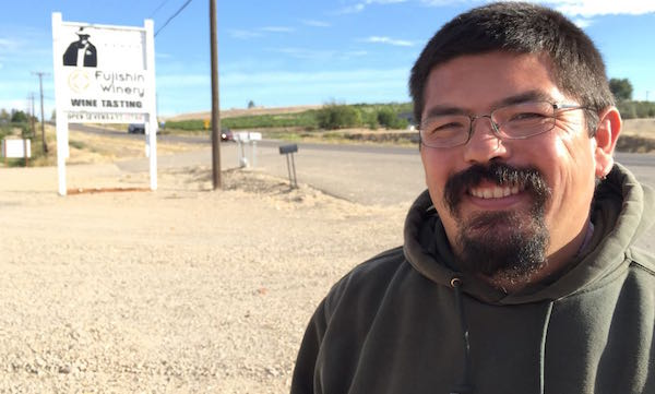Martin Fujishin is the owner of Fujishin Family Cellars in Caldwell, Idaho.