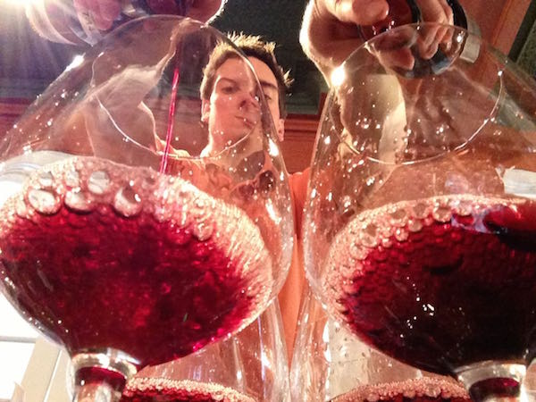 Wines are poured at the Great Northwest Invitational Wine Competition.
