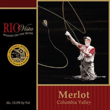 Rio Vista Wines Merlot label