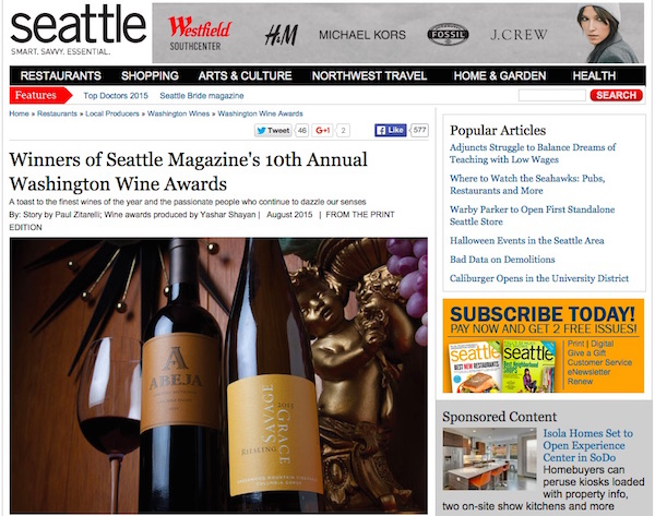 Paul Zitarelli is the owner of Full Pull Wines and wine writer for Seattle magazine.