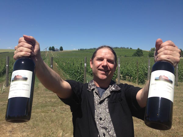 William vonMetzger produced several top wines at the Great Northwest Invitational Wine Competition.