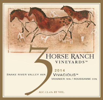 3-horse-ranch-vineyards-vivacious-2014-label