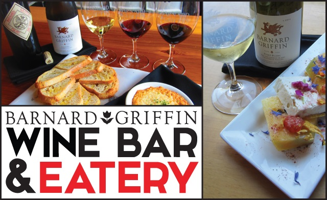 Barnard Griffin Wine Bar and Eatery montage white wine