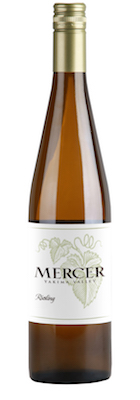 Mercer Estates Riesling nv bottle - Mercer Estates 2014 Riesling, Yakima Valley, $14