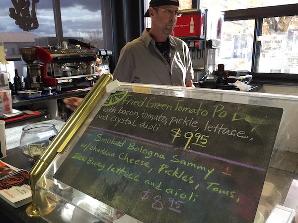 Andrae Bopp offers creative and delicious daily specials at AK's at the Co-op in Walla Walla, Wash. No items on the regular menu are priced above $9.95.